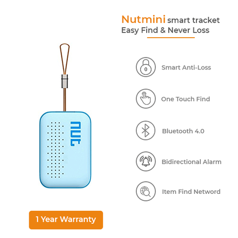 NutMini Smart Tracker - Sky Blue