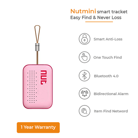 NutMini Smart Tracker (Pink)